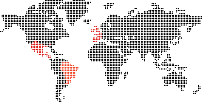 Watchguard target country map